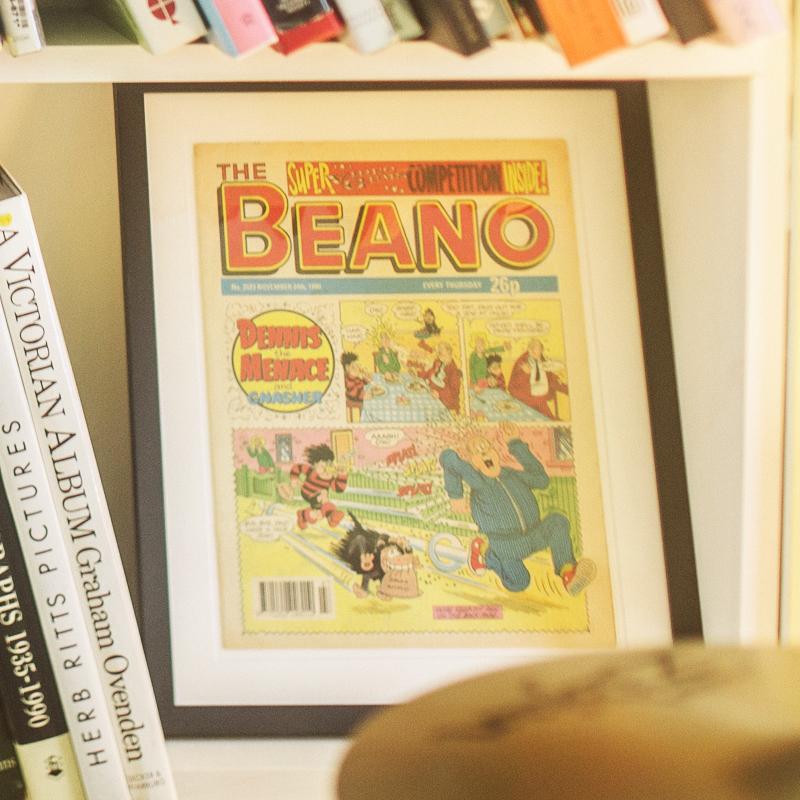 Framed Beano